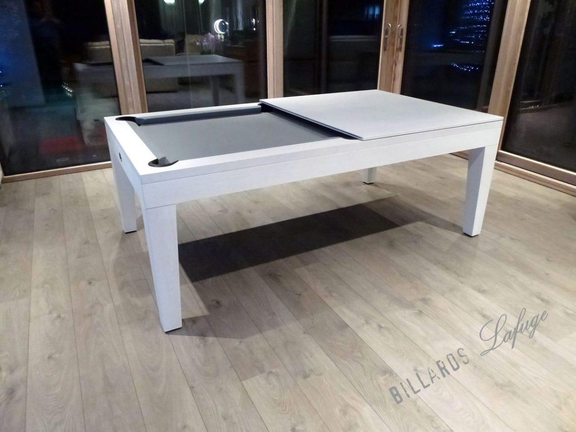 Billard avec plateau table