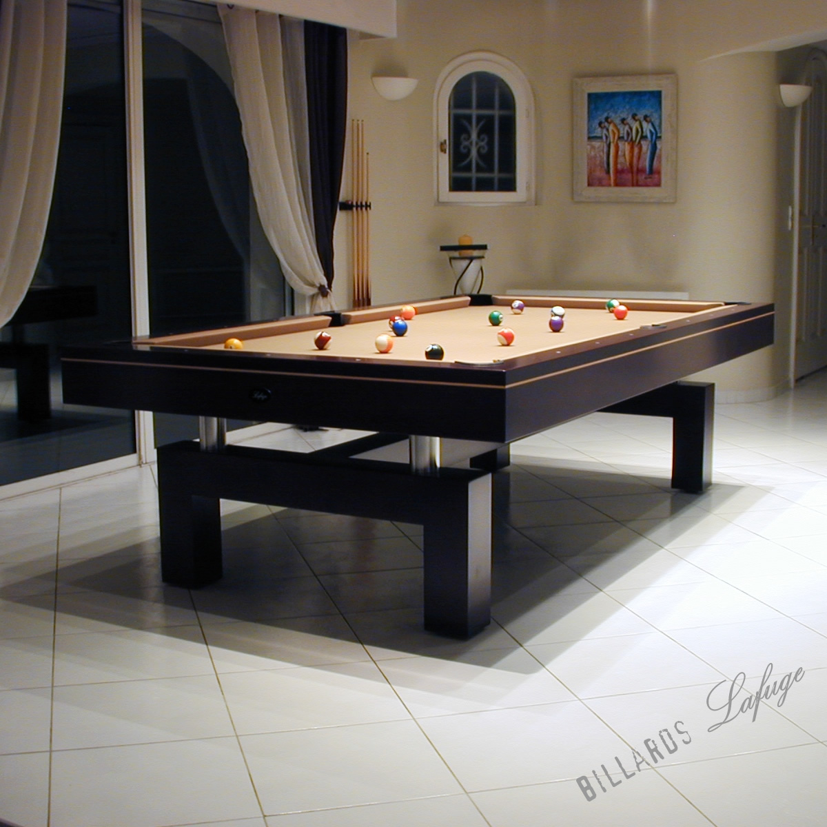 Billard contemporain - Une