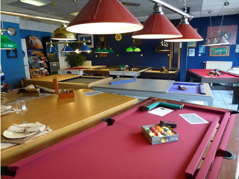 La Passion du-Billard - Valenciennes - Nord - Belgique - Distributeur de billards