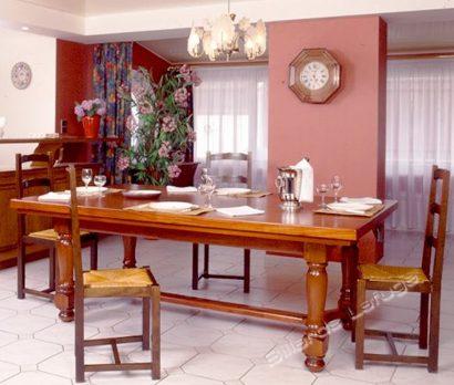 Billard Castel transformable en table