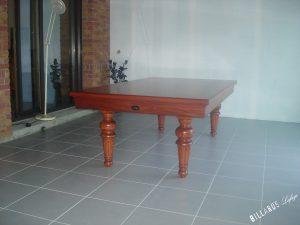 Billard Louis-Philippe transformable en table