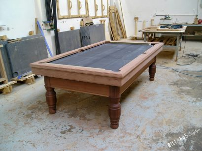Fabrication du Billard Dauphinois