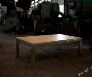 Billard Oxygène inox transformable en table