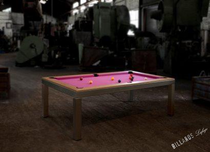 Table de billard américain convertible