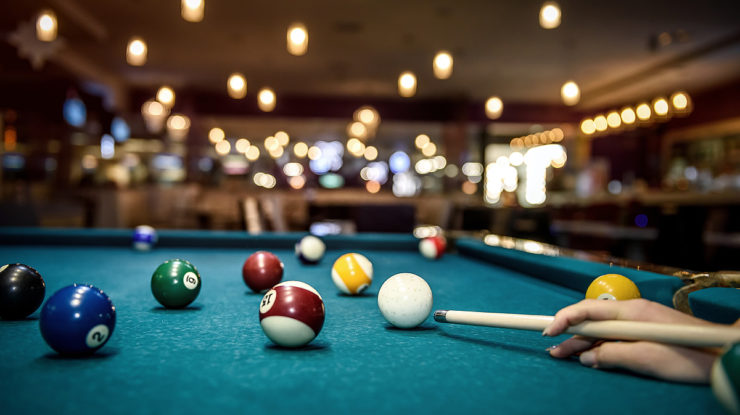 Table de billard pour bar, café, hôtel, restaurant